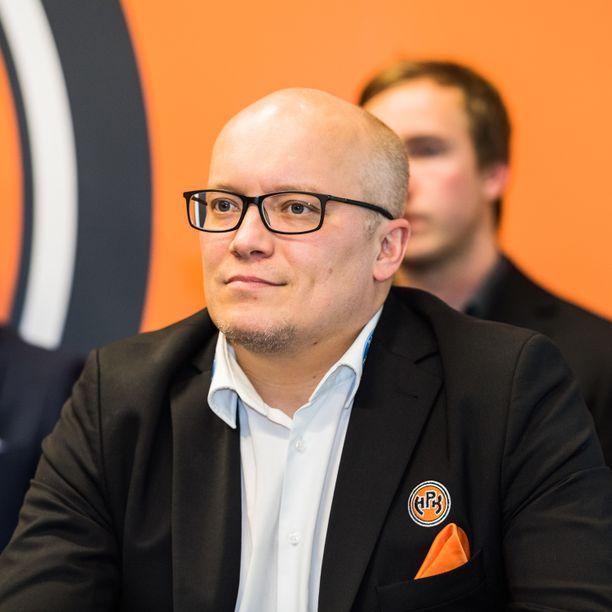 Antti Toivanen toimii HPK:n toimitusjohtajana.
