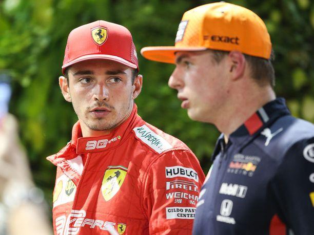 Charles Leclerc ja muu Ferrari-väki eivät hyväksy Max Verstappenin edustaman Red Bull -leirin lausuntoja heidän toiminnastaan.