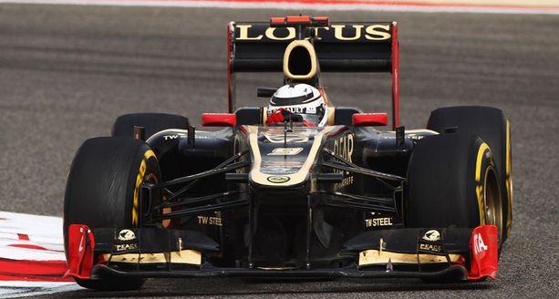 Kimi Räikkönen ajoi Bahrainissa kakkoseksi.