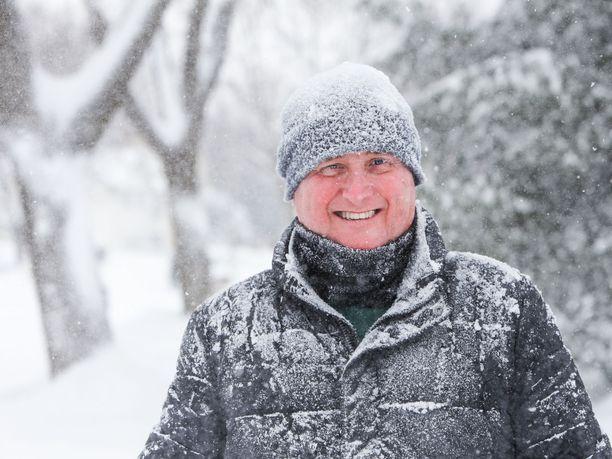 Lumisadepäivinä kannattaa olla rehkimättä yli voimiensa.