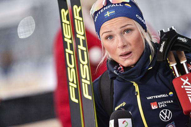 Frida Karlsson palaa maailmancupiin Falunissa.