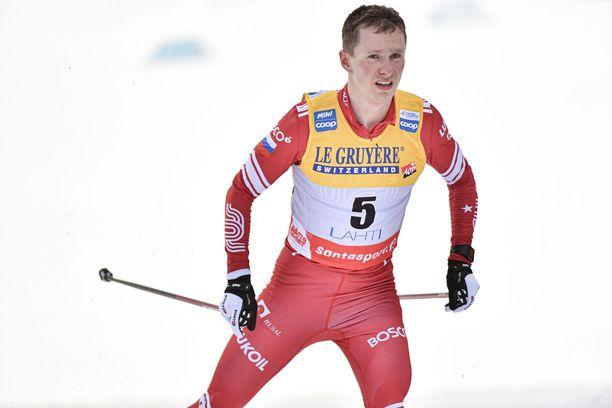 Denis Spitsov Lahden maailmancupissa.