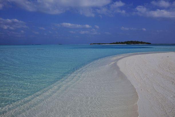 Suomalaiset ovat innostuneet Malediiveistä.