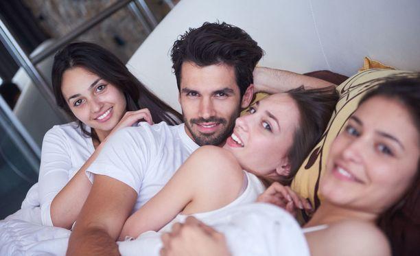 Orgia on viisipäiväisen seksifestivaalin huipennus. Kuvituskuva.