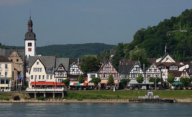 Bad Breisig on viehättävä kylpyläkaupunki Reinin rannalla Saksassa.