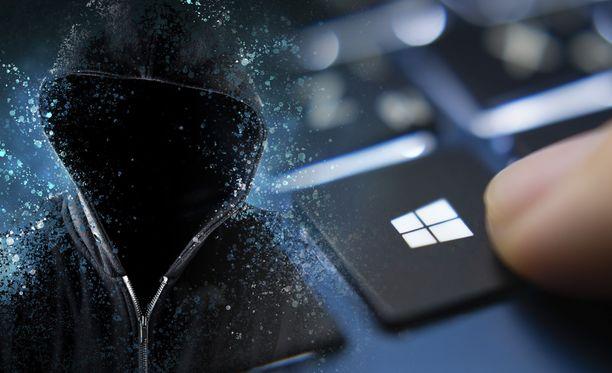 Rikolliset esittävät jälleen Microsoftia.