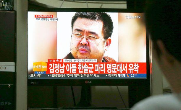 Kim Jong-nam myrkytettiin maanantaina lentokentällä Malesiassa.