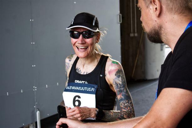 Päivi Kauppinen tähtää maratonille.