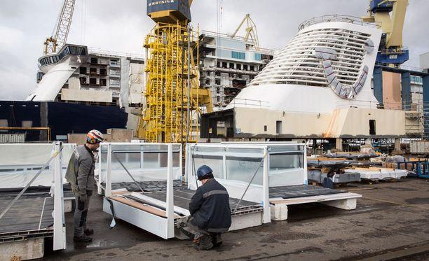 Laivanrakennus työllistää Turun lisäksi myös muualla Suomessa.
