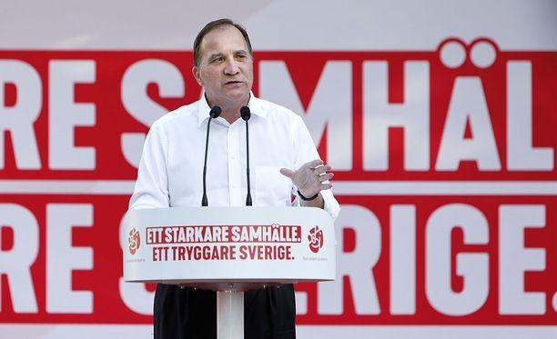 Stefan Löfven osoitti vihaiset sanansa tänään sanansa autopolttajille.