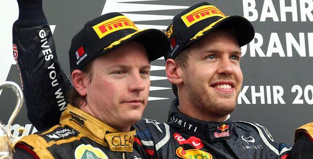 Kimi Räikkönen oli lähellä jopa kisan voittoa.
