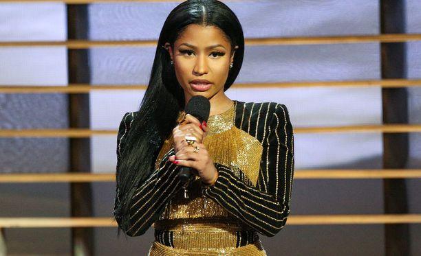 Nicki Minaj ei ollut samaa mieltä Twitter-kriitikon kanssa.