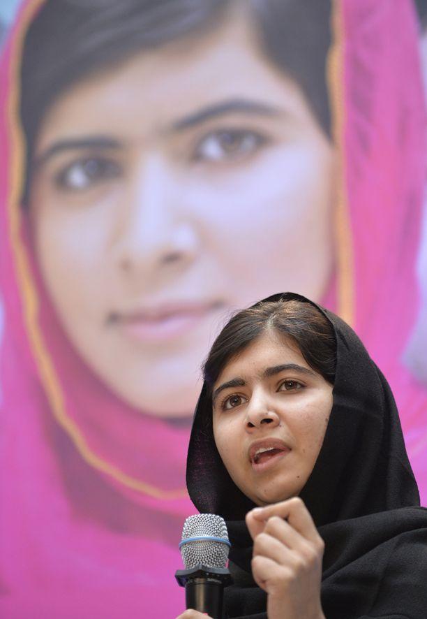 Malala Yousafzai tunnetaan koulutuksen puolestapuhujana.