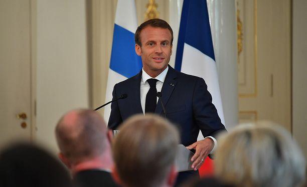 Ranskan presidentti Emmanuel Macronin mukaan Ranskalla ja Suomella on sama käsitys geopoliittisista uhista.
