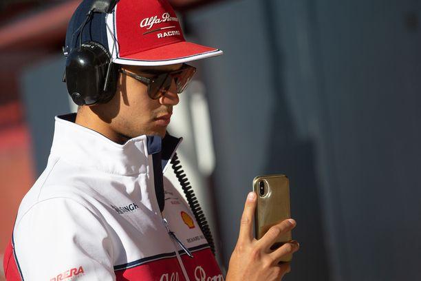 Juan Manuel Correa on Alfa Romeon kehityskuski.