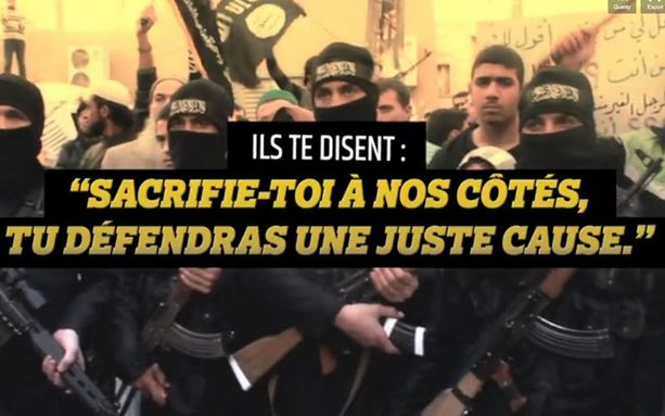 Ranskan hallitus teki jihadisteja vastustavan videon.