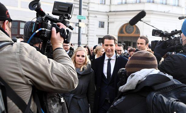 Sebastian Kurzista, 31, tuli maailman nuorin pääministeri.