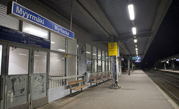 Osa epäillyistä pahoinpitelyistä on tapahtunut Myyrmäen aseman tienoilla.