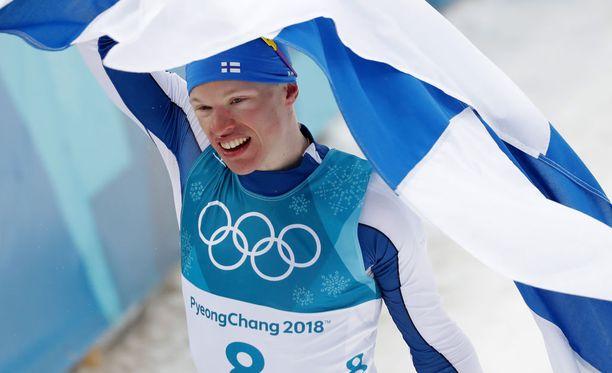 Iivo Niskanen on olympiavoittaja.