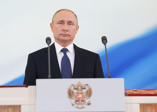 Putin astui uudelle presidenttikaudelle virallisesti maanantaina 7. toukokuuta.
