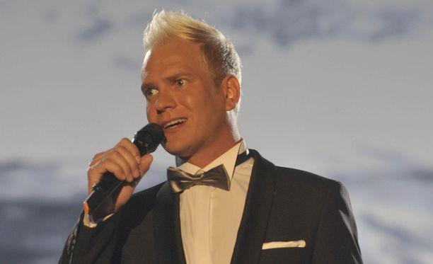 Mikko Mäkeläinen kuvattuna Seinäjoen tangomarkkinoilla vuonna 2014.