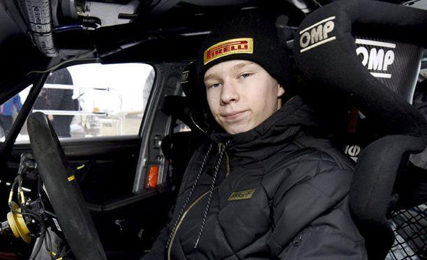 Kalle Rovanperän SM-debyytti meni nappiin.