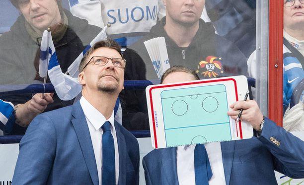 Jukka Jalonen luottaa pelaajiinsa.