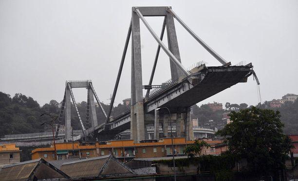Silta on rakennettu 1960-luvulla ja sitä korjattiin kaksi vuotta sitten.
