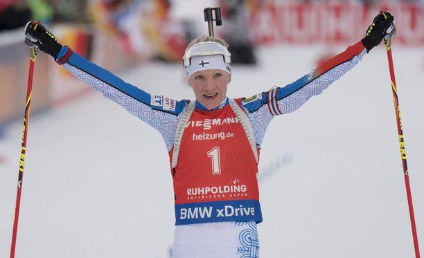Kaisa Mäkäräinen valittiin MM-kisaryhmään.