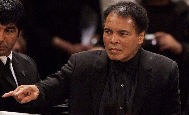 Muhammad Ali oli kuollessaan 74-vuotias.