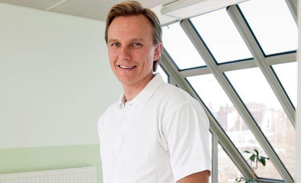 Jarkko Varvio johtaa rekrytointialan yritystä ja kuntoilee ahkerasti vaativan työnsä vastapainoksi.