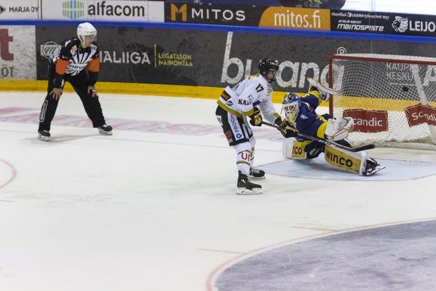 Mika Pyörälä teki Kärppien maalit varsinaisella peliajalla ja ratkaisi myös lisäpisteen.
