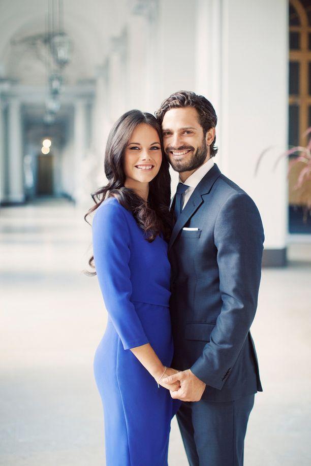 Sofia Hellqvist ja prinssi Carl Philip avioituvat 13. kesäkuuta.