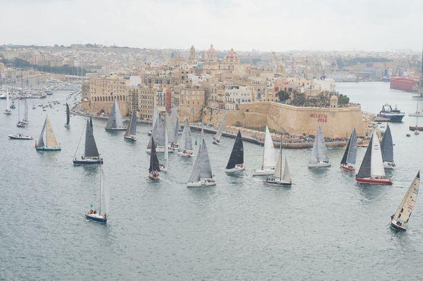Valletta, Malta. Kuvituskuva.