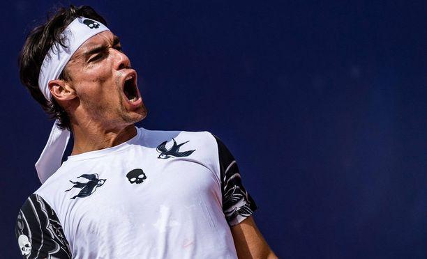 Fabio Fognini sai lähtöpassit US Openista.