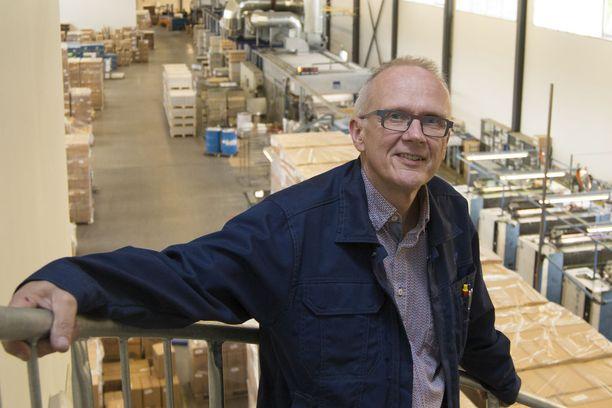 Toimitusjohtaja Rolf Nygård.