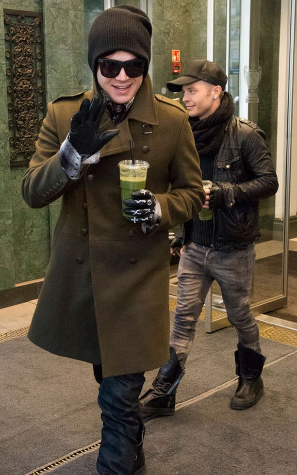 Adam Lambert konsertoi illalla Helsingissä.