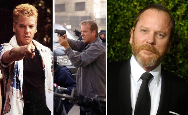 Näin näyttelijälegenda Kiefer Sutherland on muuttunut.
