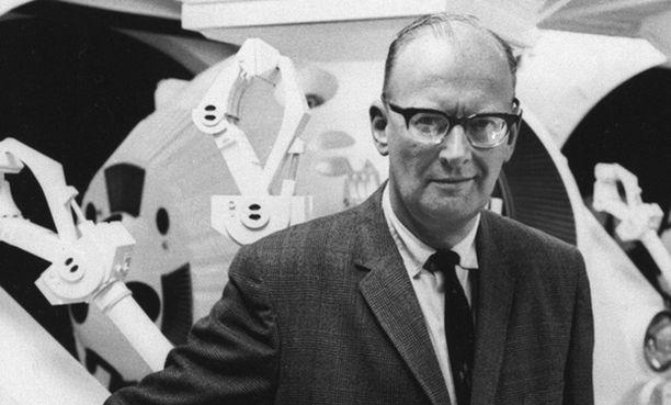 Kuvassa Sir Arthur C. Clarke 60-luvulla.
