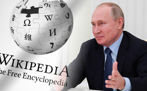 """Putin haluaa eroon Wikipediasta – tilalle """"luotettavampi"""" venäläisversio"""