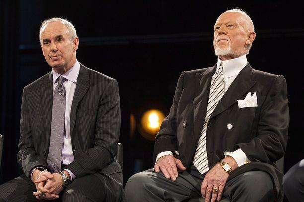 Ron MacLean on muodostanut vuosikausien ajan Coach's Corner -kiekkolähetysten parivaljakon Don Cherryn kanssa.