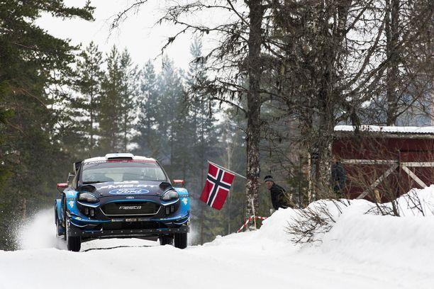 Teemu Suninen romahti kahdeksanneksi Ruotsin MM-rallissa.