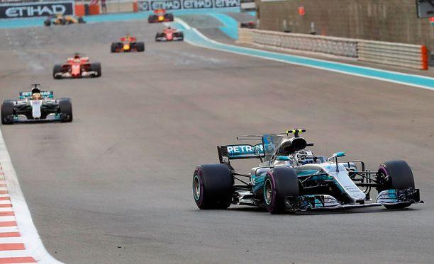 F1-kaudella 2018 rikottaneen taas kierrosennätyksiä.