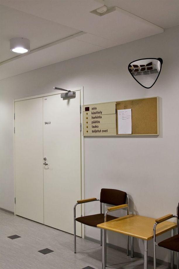 Pohjois-Karjalan käräjäoikeus käsitteli tapausta suljetuin ovin.