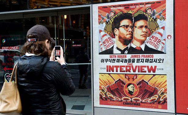 The Interview -elokuva hyllytettiin uhkausten takia.