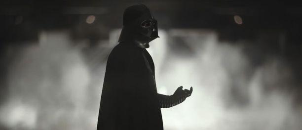 Rogue One -elokuvassa nähdään jälleen Darth Vader, tosin vain sivuroolissa.