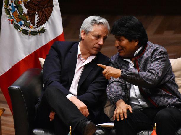 Bolivian ex-presidentti Evo Morales sai turvapaikan Meksikosta.