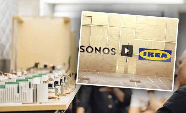 Ikea on tuomassa kaiuttimet sen valikoimaan.