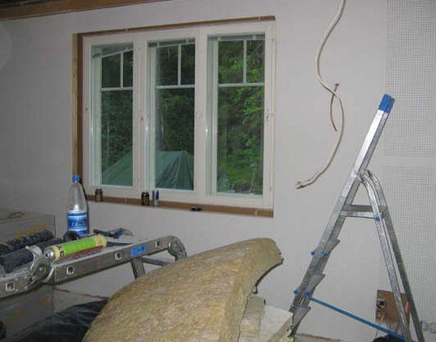 Johdotus on helppoa, kun huone rakennetaan alusta lähtien kotiteatterikäyttöön.