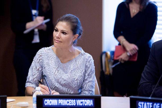 Kruununprinsessa Victoria osallistuu paneelikeskusteluihin YK:n yleiskokouksessa.